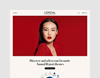L'ORÉAL GROUP • UX, ART DIRECTION & INTERFACE DESIGN