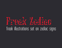 Freak Zodiac Illustration