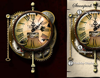 Steampunk Slightly Weird Clock