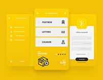 InPost Concept App - Showcase Animation