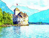 Water color Photoshop