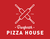 Danforth Pizza House (2014 Branding)