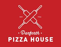 Danforth Pizza House (2014 Branding)