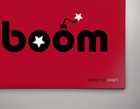 boom | Experimental typography