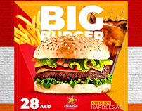 Hardee's Arabia - BIG Social Media Campaign
