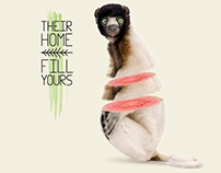 Their Home Fill Yours —Stop Deforestation—