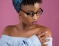 MODEL- CYNTHIA WANJIRU MAKE UP ARTIST_; GLAM GIRL SLY