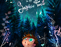 """""""Jo in the Sapphire Forest"""" - AVAILABLE"""