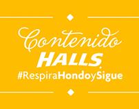 Contenido RRSS / HALLS Venezuela
