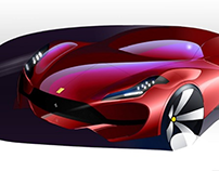 Ferrari Render Practice