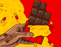 CHOCOLATE PARTY ARTWORKS