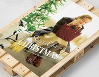 """RUSSET """" SHABBY CHIC XMAS"""" LANDING PAGE"""