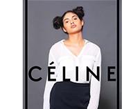 Advertorial for Celine