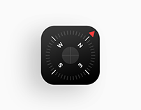 iOS 11 - Compass Icon Redesign