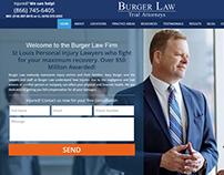 Burger Law - Web Design, Marketing, Web Development
