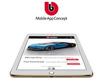 BBURAGO // App Design Concept