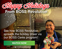 BOSS Cares Holiday Videos