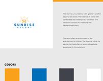 Sunrise Resort Branding