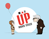 UP | Movie Titles Animation