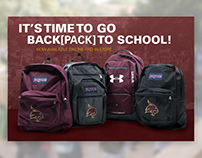 2016 - University Bookstore Back[pack] to School Ad