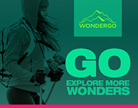 Wondergo - Nature & Travel - Mobile application