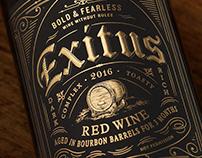 Exitus (O'Neill Vintners & Distillers) Design & Logo