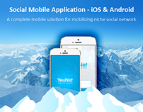 SocialEngine Mobile Application - iOS & Android