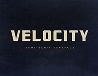Velocity Free Typeface