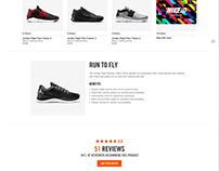 Nike Commerce PDP
