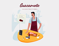 🥑 Guacamole Illustrations