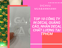 Top 10 cong ty in decal TPHCM VietNamPrinting.com