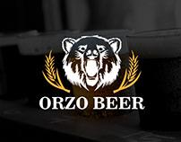 Orzo Beer | Branding