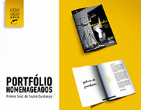 Portfólio de Homenageados Teatro Candango