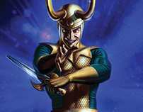 Hasbro Marvel Legends Loki