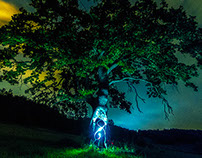 Oakreation ~ Light Painting