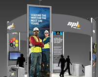 NPL 20x20 Trade Show Booth