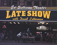 Late Show with David Letterman Design