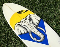 Art Surfboard