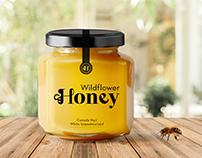 Wildflower Honey Packaging