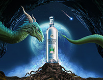 Bacardi Dragon Berry - key visual