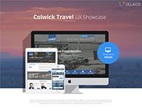 Colwick Travel UX Web Design