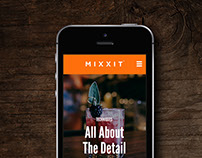 Mixology Website Concept