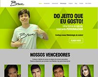 Layout Site Brun Ensino