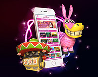 Spin Princess facebook ad banners