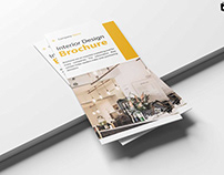 Free Furnishing Tri-Fold Brochure Template