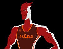 LA LIGA, Argentine Basketball League.