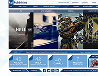 New RAI • website layout