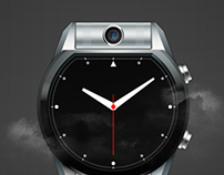 Smartwatch with Rotating Camera
