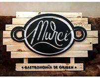 Identidad visual Restaurante Murci