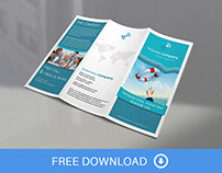 Trifold Brochure Mock-up - FREEBIE
